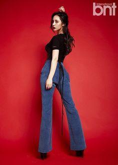 "Dal Shabet Member Woohee Poses for ""International bnt"" | Koogle TV"