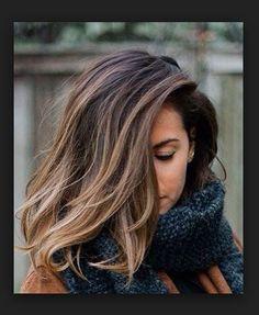 Balyaj Saç Modeli