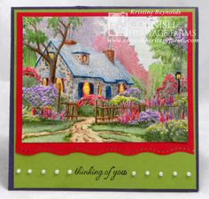 Three part coloring tutorial video for coloring this Thomas Kinkade Foxglove Cottage image with Prismacolor pencils. Designed by: Kristine Reynolds