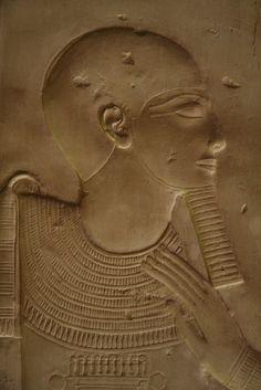 Templo de Sethi I en Abidos. Abydos , Seti I , Capilla de Ptah. Ptah's chapel. Chapelle de Ptah. | par Soloegipto