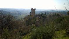 San Miniato gezien vanuit de Rocca di Federico II