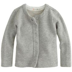 J.Crew Baby snap cardigan sweater (555 ARS) ❤ liked on Polyvore featuring baby