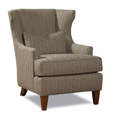 Huntington House Chair 7459-50 -- not crazy about the tweed, but the shape is nice.