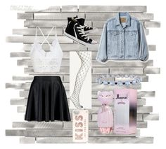 """""""Talent show"""" by bunnydaisy on Polyvore featuring Boohoo, Converse, Gap, Kate Spade and Miadora"""