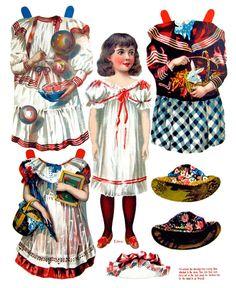 The New Model Book of Dolls, McLoughlin, 1904 - papercat - Picasa Albums Web