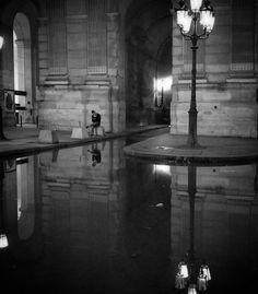 Le Louvre inondé