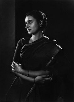 Indira Gandhi by Yousuf Karsh Indira Gandhi, Anita Ekberg, Winston Churchill, Best Portrait Photographers, Portrait Photography, Ernest Hemingway, Alfred Hitchcock, Carl Jung, Grace Kelly