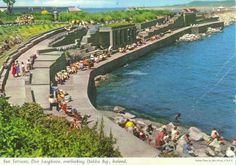 Dun Laoghaire Pier, County Dublin, Ireland - we swam here when we were kids Great Places, Places To See, Us Swimming, Ireland Homes, Cottages By The Sea, Irish Celtic, Emerald Isle, Dublin Ireland, Northern Ireland