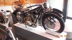 1928 BMW motorcycle