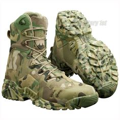 Spider Desert by Magnum in MultiCam Camo Perfect boots for all kinds of outdoor actives such as hunting, paintballing, hiking or survival, and each one who needs military quality lightweight footwear designed for extreme condition. Tactical Shoes, Tactical Wear, Tactical Clothing, Military Gear, Military Equipment, Fishing Shoes, Hunting Boots, Camo Boots, Airsoft Gear