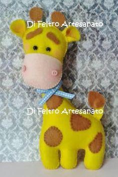 Bichinhos para enfeite - Girafa