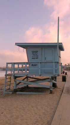 Lifeguard stand on Ruby Street, Redondo Beach, CA #beachviews-Redondo Beach, California - All of us in Redondo Beach love the sun and the sand, however, our skin does not.  The Laser Image Company, Located at 1728 S Catalina Ave. #4, Redondo Beach, CA 90277 is here to help!  Don't let wrinkles or sun spots ruin your day.  Come see us and mention you heard about us from Pinterest and get 10% off your first procedure! http://newlaserimage.com/ (310) 543-9073 #RedondoBeach #SkinCare