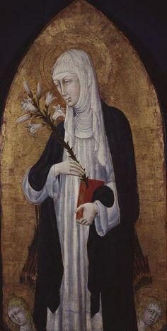 Giovanni di paolo, St Catherine of Siena - Catherine of Siena - Wikipedia, the free encyclopedia