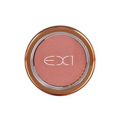 EX1 Cosmetics Blusher, Pretty In Peach (£9.50) ❤ liked on Polyvore featuring beauty products, makeup, cheek makeup and blush