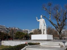 Statue of Eleftherios Venizelos Alexander The Great, Thessaloniki, Statue Of Liberty, Sculptures, Meet, Explore, City, Statue Of Liberty Facts, Statue Of Libery