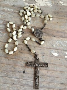 The rosary is symbolic of a form of devotion. It represents decades of repeated Hail Marys.