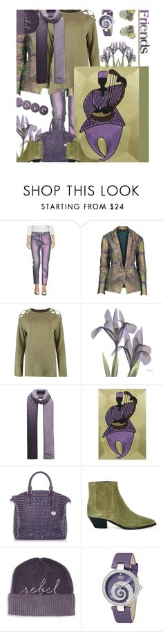 """""""Is There A Draft In Here - Yes, But Thankfully There Is 1 Less In Mine"""" by sharee64 ❤ liked on Polyvore featuring Faith Connexion, Boohoo, Fendi, NOVICA, Isabel Marant, Eugenia Kim, bürgi and Stephen Dweck"""