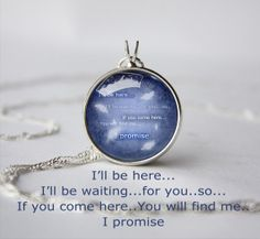 Handmade Final Fantasy VIII FF8 Squall quote by PendantCrafts, $14.20 - I don't own this WHY EXACTLY