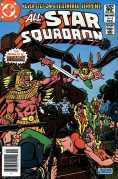 Cover for All-Star Squadron (DC, 1981 series) #6