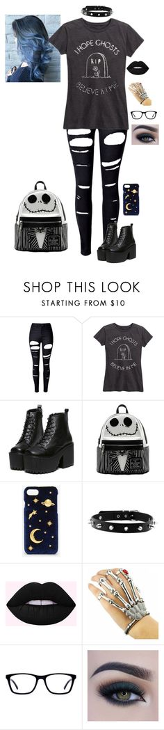 """""""Untitled #93"""" by jazz666 on Polyvore featuring WithChic, CHARLES & KEITH and Too Faced Cosmetics"""
