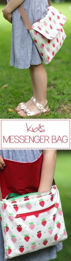 Kids Messenger Bag Tutorial