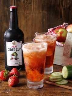 Pimm's Cider Cup has outpaced other cider innovations on sale in the UK, Diageo claims (Photo: Diageo)