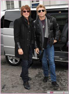Jon Bon Jovi Richie Sambora