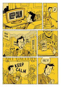 CAIDO DE UN PERAL - Cómic e Ilustración: Keep Calm
