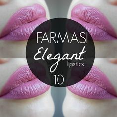 mela-e-cannella: FARMASI Lipstick - Elegant 10