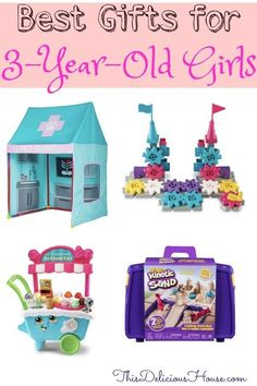 Have a three year old girl in your life you need to buy for? Don't miss guide for the best gifts for a girl! Great for Birthdays or Holidays 2019 Jojo Siwa Birthday, Barbie Birthday Party, Trolls Birthday Party, Twin Birthday, Frozen Birthday Party, Unicorn Birthday Parties, 3 Year Old Christmas Gifts, Gifts For 3 Year Old Girls, Christmas 2019