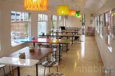 London's Deptford Cafe Transforms an Old Train Carriage Into a...