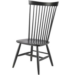 Comb-Back Windsor Side Chair Family Dining Rooms, Dining Room Table, Dining Chairs, Belmont House, High Back Chairs, Side Chairs, Elegant Kitchens, Black Wood, Kitchen Chairs