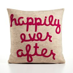 HAPPILY EVER AFTER   recycled felt applique von alexandraferguson, $109.00