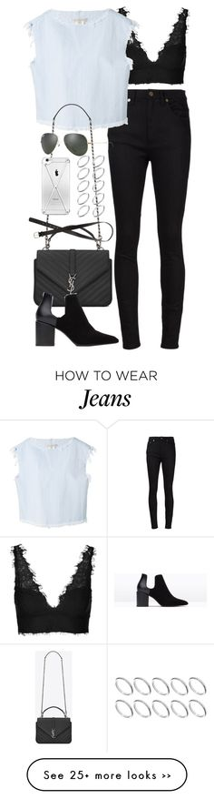 """""""Inspired outfit with a Topshop Bralet"""" by whathayleywore on Polyvore"""