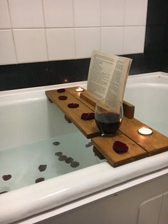 Bath Caddy Bath Shelf Bath Plank Bath Board Bath Tray