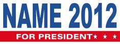Political Banner #8531 Presidents, Banner, Politics, Names, Logos, Banner Stands, Logo, Banners