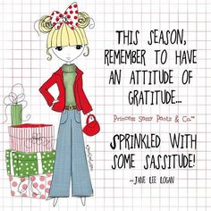 """Photo: """"This season, remember to have an attitude of gratitude....."""" ♥  #inspirationalpost by Princess Sassy Pants & Co."""