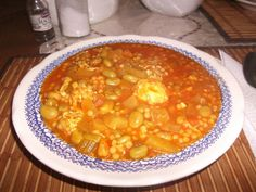 This is a traditional Maltese soup ,my hubby who is from Iraq loves it . He does not like peas so I do not put any . I also like to break some eggs in the soup when its almost ready and let them poach . Usually this is done in soppa ta l -armla [...] Broad Bean Recipes, Bean Soup Recipes, Dried Fava Bean Recipe, Pasta Soup, Fava Beans, Italian Pasta, Soup And Sandwich, Mediterranean Recipes, Soups And Stews