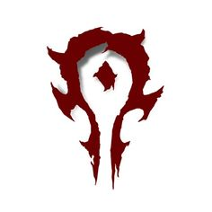 J!NX : Warcraft Movie Horde Logo Vinyl Sticker