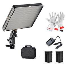 Awesome Emgreat Aputure Amaran AL C LED Videoleuchte Panel Studio Beleuchtung Kameralicht