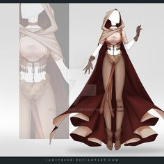 (CLOSED) Adoptable Outfit Auction 270 by JawitReen on DeviantArt