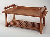 Rodel, bench