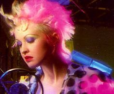 I liked Cyndi Lauper when I was little. Always have a soft spot for her because of that. :)