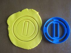 Mario Coin Cookie Pastry Biscuit Cutter Icing Fondant Baking Bake Kitchen N64