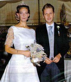 Princess Mafalda of Savoy-Aosta (*1969) and Don Alessandro Ruffo di Calabria - separated