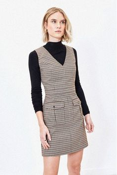 Classic, infusing vintage vibes, our Oasis brown micro check shift dress scores all brownie points. Brownie Points, Vintage Vibes, Cool Names, Next Uk, Uk Online, Scores, Oasis, Branding Design, Label