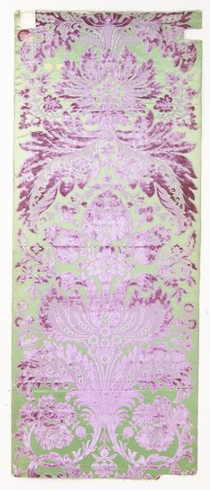 Panel Manufacturer: Tassinari & Chatel  (French) Date: 1866 Culture: French (Lyon) Medium: Silk Accession Number: 2001.173