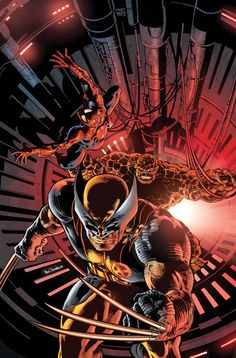New Avengers 11: Colors by MikeDeodatoJr.deviantart.com on @deviantART