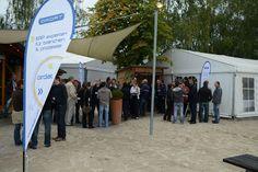 Beachflags von bannerstop.com für das Unternehmen Ordat.