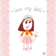 #love my #Doll  - Lo Stile di Bia #lostiledibia #fashionkids #kids #modabambino #digitalprint #graphic #madeinitaly #baby #pink